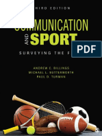 Andrew C. Billings_ Michael L. Butterworth_ Paul D. Turman - Communication and Sport_ Surveying the Field-Sage Publications, Inc (2014)