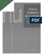Historia Economica de La Empresa El Empresario Visto Por Los Economistas Cap I p. 1-39