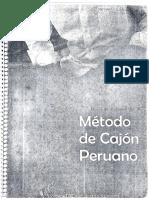 Método Cajón