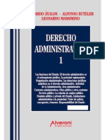 Derecho Administrativo 1. Eduardo Ávalos