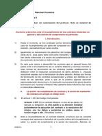 Acciones Yderechos de Las Partes en El Caso de Incumplimientos en La Compraventa (0338332xC4456)