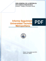 Informe Auditoria de Transacciones-octubre 2010