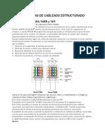 NORMAS 568 Y 569 DE CABLEADO ESTRUCTURADO