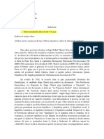 Análizis acerca del chavismo historicamente