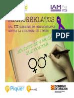 Relatos contra la violencia de género