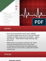 Asuhan Keperawatan Pada Pasien ADHF