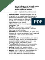 figuras literarias castellano