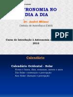 Astronomia no Dia a Dia - Calendáírio Solar (André Milone)(1)