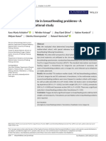 The role of tongue‐tie in breastfeeding problems
