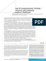 Timing of Complementary Feeding Introduction and Adiposity Throughout Childhood.pdf