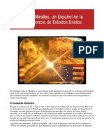 Juan de Miralles, unEspañol en laIndependencia deEstados Unidos