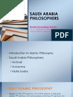 Rossite Novesters-Ramilo Saudi ArabiaPhilosophers