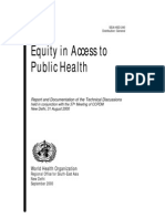 WHO_Equity & Access