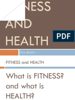 ABCs of FITNESS and HEALTH