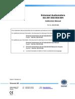 Entomed SA20X-IV Calibration Manual DOK164-13