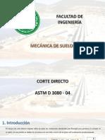 Corte directo - URP