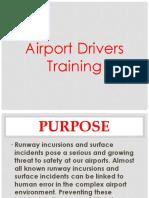 Generic Driver Training PPT