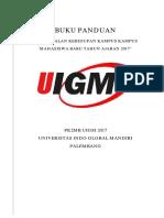 BUKU PANDUAN PK2MB 2017