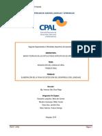 Ficha de desarrollo del lenguaje - Escalante, M; Morales, M; Palao, J; Salas, X.