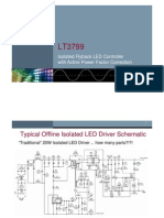 LT3799 Isolated LED Driver Slide
