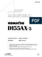 Komatsu Tractor d155 Ax