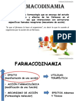 CLASE 4 Farmacodinamia