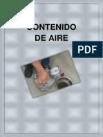 CONTENIDO DE AIRE FINAL