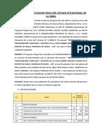 ACTA DE CONSTATACION FISICA DEL ESTADO SITUACIONAL DE LA OBRA