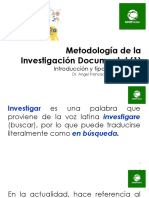 Metodologia de la investigacion clase 1 UF