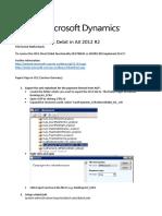 Setup SEPA Direct Debit in AX 2012 R2