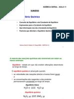 Aula11_Equilibrio_quimico