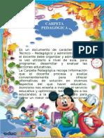 CARPETA PEDAGOGICA 4TO 2019-2020