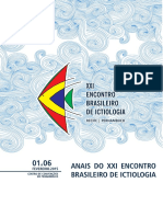 Encontro Brasileiro de Ictiologia 2015