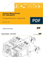 01. 6060 Engine and Pump Drive - Cat 3512C