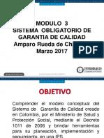 Modulo 3 Sistema Obligatorio de Garantia de Calidad, Auditoria, Mejoramiento(1)