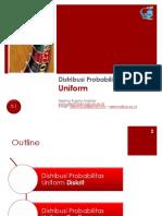 Distribusi Uniform