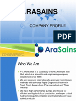 ARASAINS COMPANY PROFILE