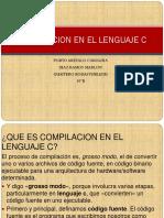 COMPILACION EN EL LENGUAJE C