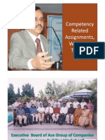 Competency Related Work - Chandramowly