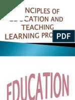 Principles of Education