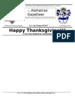 The Alphatraz Gazetteer Nov 10