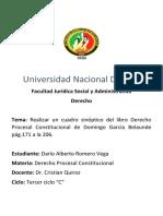DE LA JURISDICCION CONSTITUCIONAL AL DERECHO PROCESAL CONSTITUCIONAL