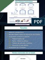 Presentación nº 7 Túneles Sistemas Constructivos