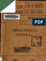TM 9-1900 Ammunition, General-1956