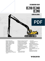Volvo excavadora ficha tecnica v-ec210-240