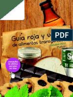 GUIA ROJA Y VERDE DE ALIMENTOS TRANSGENICOS - GREENPEACE