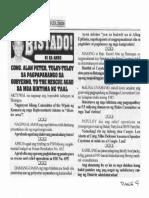 Bulgar, Jan. 23, 2020, Cong. Alan Peter tuluy-tuloy sa pagpapabango sa gobyerno to the rescue agad sa mga biktima ng Taal.pdf