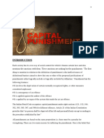 project on capital punishment in india done