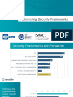 Automating Security Frameworks