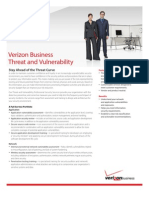 Threat And Vulnerability  Verizon Business